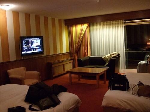 hotel amsterdam, gli Interni