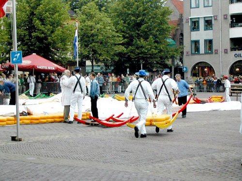 Alkmaar, Il Mercato del Formaggio, le Trattative
