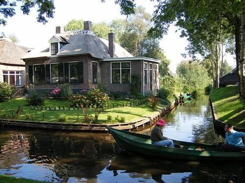Giethoorn Casa Verde Barca
