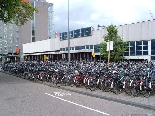 Le Bici di Amsterdam al Parcheggio