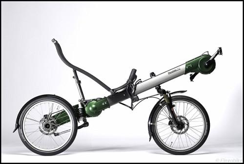 Dall'Olanda ecco la bici rovesciata