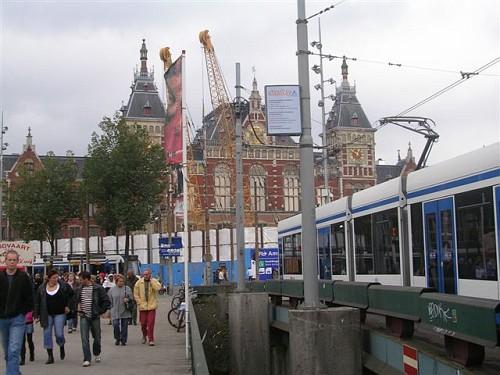 Centraal Station di Amsterdam