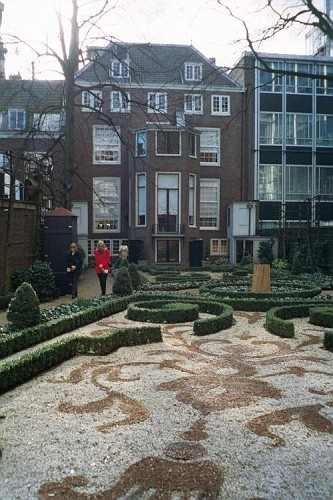 Amsterdam, il giardino del Museo Willet-Holthuysen
