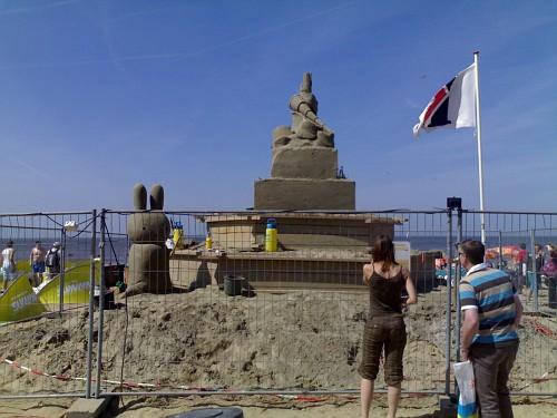 Den Haag, il Festival delle Sculture di Sabbia