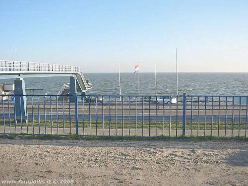la Diga dell'Afsluitdijk