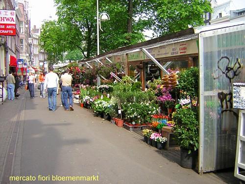 Amsterdam, il Mercato Bloemenmarkt