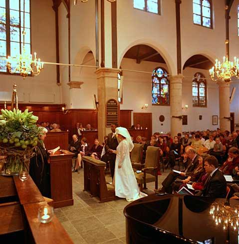 Il Matrimonio in Olanda, in Chiesa