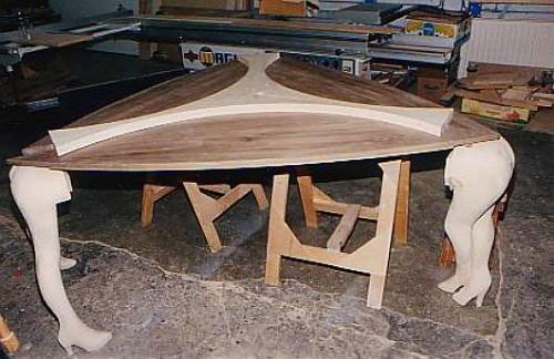 I Mobili Sexy Tavolo in Lavorazione