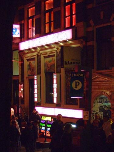 amsterdam line porno show