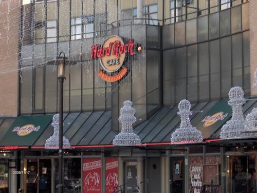 Amsterdam, l'Hard Rock Cafè