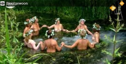 Olanda, Bloot gewoon. Il reality per un calendario di uomini e donne nude