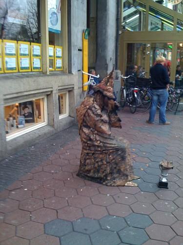 Amsterdam, mago Merlino