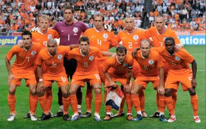 Olanda, la Nazionale di Calcio ai Mondiali 2010 in Sudafrica