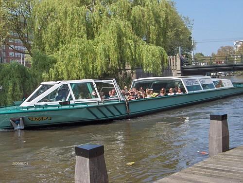 Amsterdam, il Battello