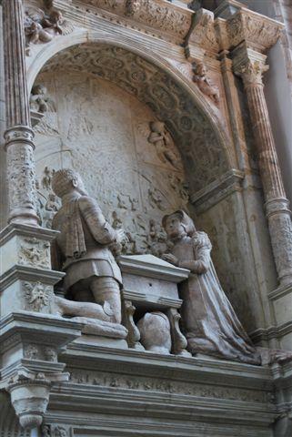 Breda, De Grote Kerk, le statue