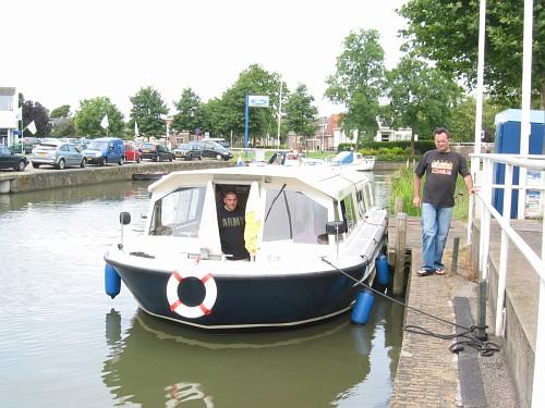 Olanda viaggio in barca