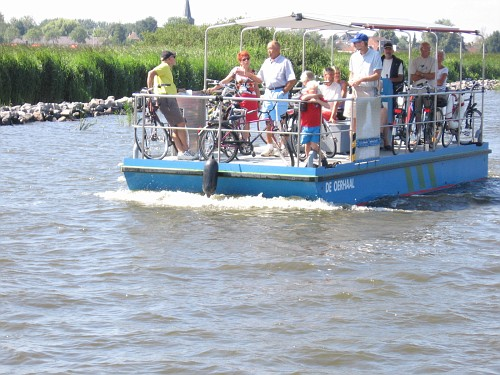 Olanda viaggio in barca. Traghetto
