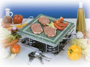 cottura in tavola con piastra in ghisa carnealfuocoit il forum carne al fuoco il piacere del barbecue